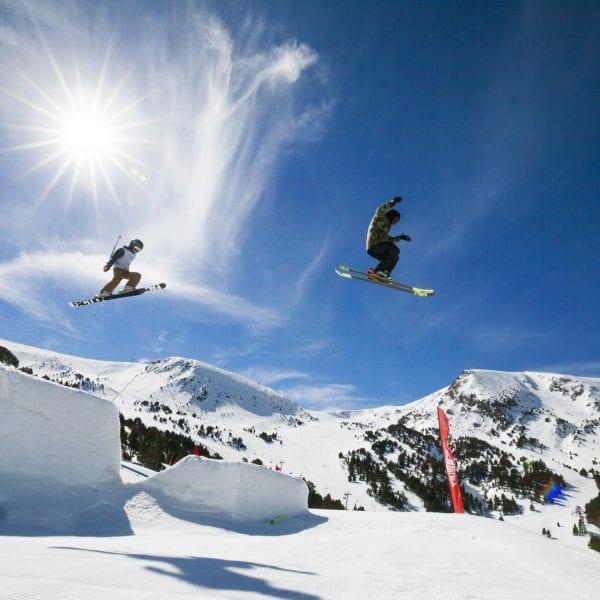 Snowpark El Tarter