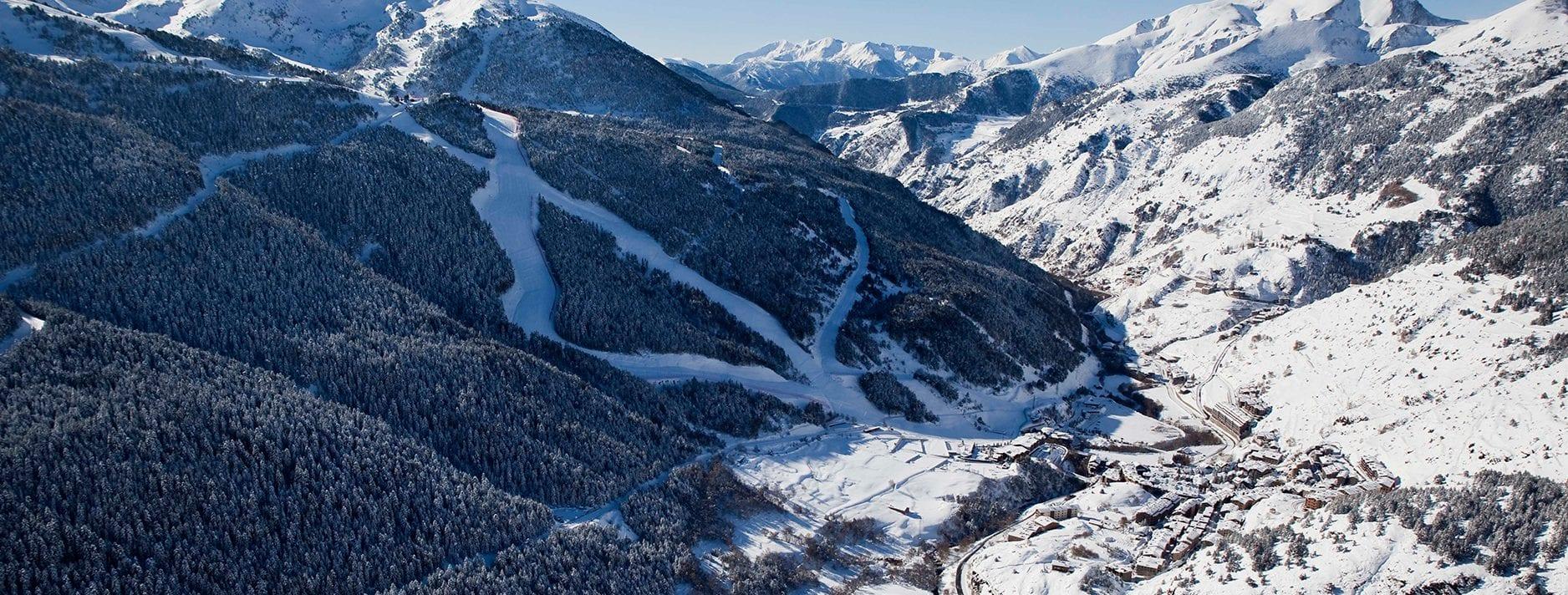 El Tarter   Andorra   Winter Ski