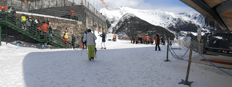 Arinsal Ski School Meeting Point