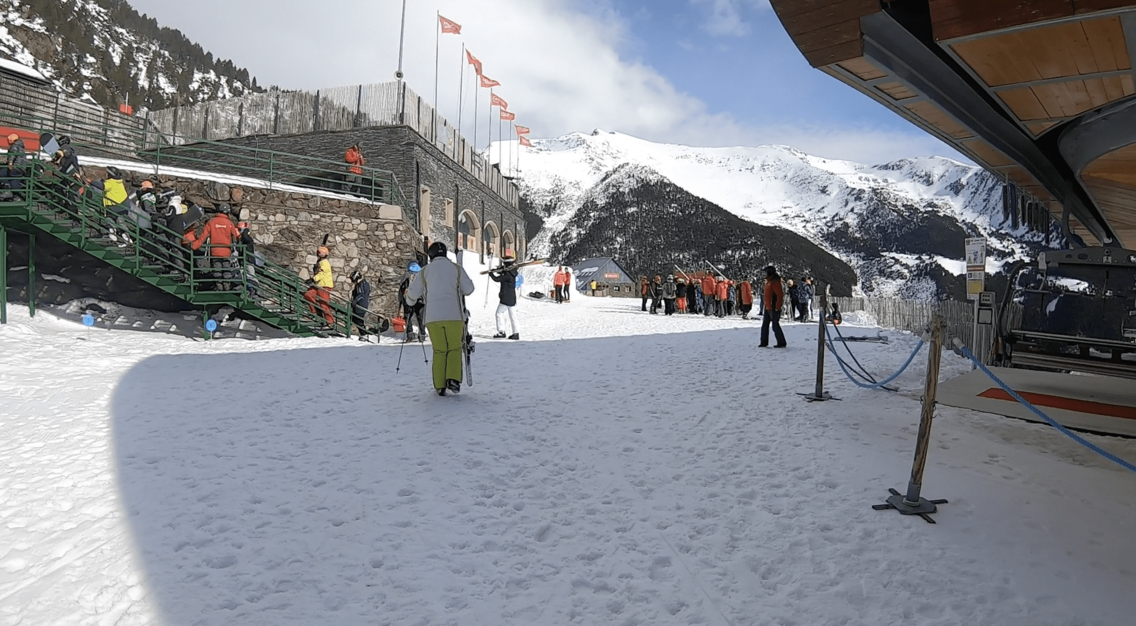 Arinsal Ski School Meeting Point